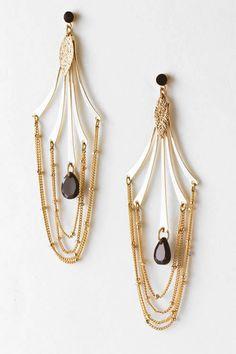Boho Isis Chandelier Earrings on Emma Stine Limited