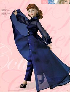 "Manufacturer's catalog image of 18"" vinyl Enchanté Kitty Collier dressed doll, United States, 2001, by Robert Tonner."
