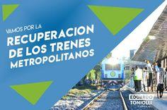 CRÓNICA FERROVIARIA: Para avanzar en la recuperación de los trenes metr...