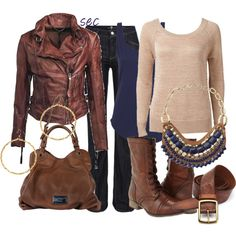 Fall brown 6, created by coombsie24 on Polyvore
