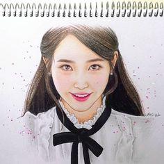 Art Sketches, Art Drawings, Color Pencil Art, Kpop, Insta Art, Colored Pencils, Doodles, Fan Art, Photo And Video