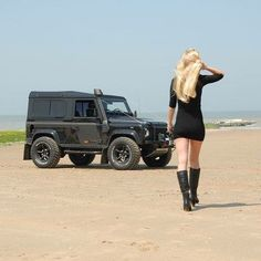 Land Rover Defender 90 Td4 TWISTED lifestyle lady