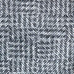 Clay McLaurin Studio Rattan_Indigo Wallpaper Print Wallpaper, Rattan, Indigo, Clay, Curtains,
