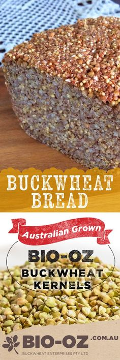 Thank you to Basia Sujecki for sharing this beautiful buckwheat bread recipe PIN THIS RECIPE Buckwheat bread Ingredients 360 gram of Bio-Oz buckwheat kernels 1