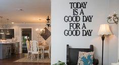 Όμορφες και πρωτότυπες ιδέες για να διακοσμήσουμε τους τοίχους του σπιτιού μας ώστε να πάψουν να είναι μουντοί βαρετοί και μονότονοι. Ένα διακοσμητικό στον κενό τοίχο του σπιτιού μας μπορεί να αλλάξει ριζικά την εικόνα της διακόσμησης. Υπάρχουν διάφοροι τρόποι για να γεμίσουμε έναν τοίχο όπως :  - κορνίζες με φωτογραφίες  - κάδρα με αποφθέγματα (Quotes στα αγγλικά)  - πίνακες ζωγραφικής  - αυτοκόλλητα τοίχου  - ταπετσαρίες  - ένα vintage αντικείμενο  και άλλα πολλά που δε χωράει η φαντασία…