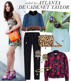 Who can resist these sunnies? Atlanta de Cadenet Taylor Raids The Who What Wear Closet for this fabulous find Fashion Models, Girl Fashion, Fashion Outfits, Atlanta De Cadenet Taylor, French Girls, Fashion Books, Who What Wear, Couture Fashion, Style Inspiration
