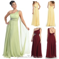 Long Prom dress in color Green, Yellow, Ivory & more - One Shoulder style in Chiffon - Plus Size available. - 99 - Dress URL: http://www.jessicasfashion.com/a-modest-one-shoulder-style-dress.-mq707.html #prom2013 #promdresses #promdress #dressshopping #greendress #greenpromdress #chiffondress #chiffondresses #longpromdress #promgown #longdress #longdresses #oneshoulderdress #plussizedress