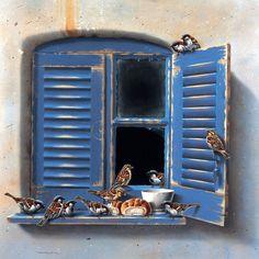Raindrops and Roses Illustration Art, Illustrations, Bird Drawings, Decoupage Paper, Animal Paintings, Bird Art, Bird Feathers, Beautiful Birds, Painting Inspiration