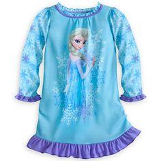 Elsa Nightshirt for Girls - Disney Store $17 (2@$14ea)