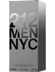 5966ecdf32e Perfume 212 Men Carolina Herrera Eau de Toilette Masculino 100ml