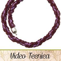 VIDEO TECNICA - HobbyPerline.com - Il negozio per la bigiotteria Fai da Te Technical Video, Handmade Bags, Videos, Jewelery, Crochet Necklace, Bracelets, Macrame, Tutorials, Shop