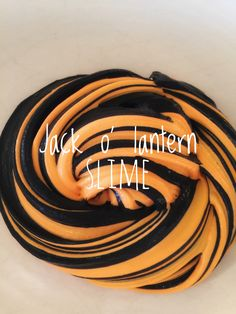 Halloween Slime: Jack O' Lantern Slime from Tini Slime on Etsy. So Fun! $9 FREE SHIPPING