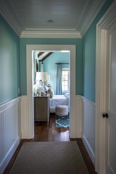 12 ways to wainscote dining room wainscoting paint and for Watery paint color