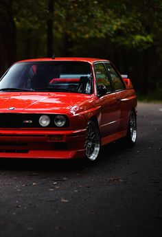 An E30 BMW M3. I can't believe how gorgeous this is.
