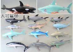 26.91$  Watch more here  - 12pcs/set  14cm   shark  soft  plastic  genuine bulk marine animal model  all kinds of  shark toy gift