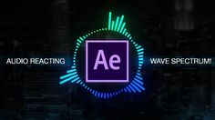 How to create Reactive Audio Spectrum Waveform Effects in Adobe After Ef...