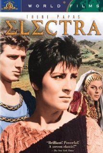 Directed by Michael Cacoyannis. With Irene Papas, Giannis Fertis, Aleka Katselli, Theano Ioannidou. Living in exile after the death of their father, the grown children of a murdered and usurped king converge to exact eye-for-an-eye revenge. Epic Movie, Movie Tv, Greece Movie, Irene Papas, Zorba The Greek, Greek Beauty, Trojan War, Anthony Perkins, Classical Antiquity