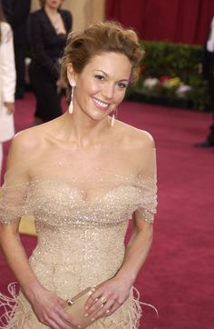 Diane Lane - beautiful gown and she looks gorgeous