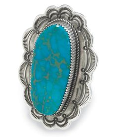 Turquoise ring, love it!