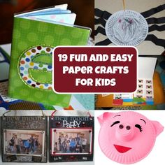 19 Fun and Easy Paper Crafts For Kids