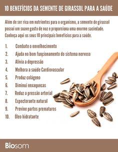 Clique na imagem para ver detalhadamente os 10 Benefícios Incríveis da Semente de Girassol para a Saúde #girassol #sementedegirassol #semente #alimento #alimentação #alimentaçãosaudavel #saúde #bemestar