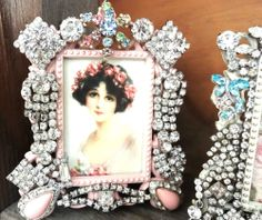 Jeweled Frames On Pinterest Vintage Jewelry Vintage