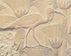 Papyrus and waterfowl bas relief Egyptian Symbols, Ancient Egyptian Art, Egypt Animals, Le Nil, Ancient Egypt History, Egypt Art, Ancient Artifacts, Fauna, Ancient Civilizations