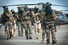 CPA 10,1er RPIMa — with commando parachutiste de l'air n°10(CPA10), forces spéciales saoudiennes and forces spéciales françaises.