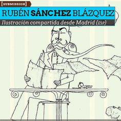 Ilustración. Bonjour de RUBÉN SÁNCHEZ BLÁZQUEZ. Ilustración compartida desde Madrid (ESPAÑA).  Leer más: http://www.colectivobicicleta.com/2013/05/Ilustracion-de-RUBEN-SANCHEZ-BLAZQUEZ.html#ixzz2S9PzMu9x