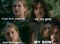 The Walking Dead: Eugene, Denise and Daryl memes