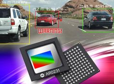 On Semiconductor's CMOS Image Sensors Enables New Generation Eyesight Driver Assistant Platform Advanced Driver Assistance Systems, Dynamic Range, Electronics, Consumer Electronics