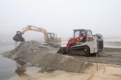 Privately-funded dredging project underway at Downs Creek...