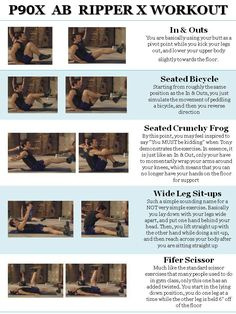 P90x ab ripper x #abs These are the best seriously. :D