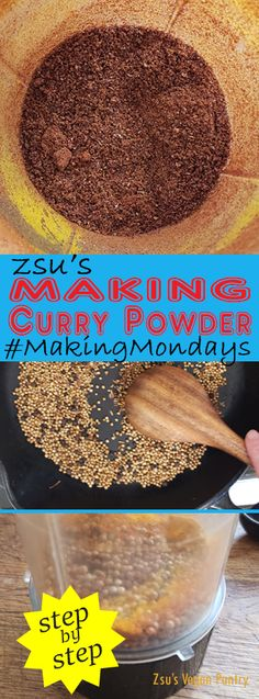 Zsu's Vegan Pantry: making curry powder