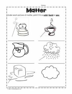 page science mini-book was created to help teach the Next Generation Science Standards for grade in structure and properties of matter. It covers . States Of Matter Worksheet, Matter Worksheets, 2nd Grade Worksheets, Science Worksheets, Kindergarten Worksheets, Worksheets For Kids, Science Activities, Matter Activities, Adjectives Activities