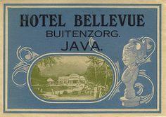 Hotel Bellevue, Buitenzorg Java