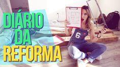 1º DIÁRIO DA REFORMA   FER INSTALANDO TUDO + PISO E ESCOLHAS DO PROJETO