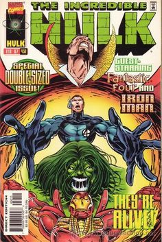 A cover gallery for the comic book Hulk Hulk Comic, Marvel Comic Books, Comic Books Art, Comic Art, Book Art, Hq Marvel, Marvel Heroes, Heroes Reborn, Comics For Sale