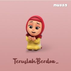 Inspirasi dari Rara, agar kita senantiasa berdoa Pink Wallpaper Iphone, Pink Iphone, Hijab Cartoon, Pink Panthers, Awesome Anime, Sticker Design, Cute Drawings, Islam, Doodles
