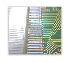Heißsiegel- / HeatSeal Anwendung: Leiterplatte (PCB) zu Flex (FPC) zu Glas (LCD)