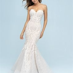 1ec96121dcec Allure Bridal 9601 Bridal Stores, Allure Bridals, Allure Wedding Gowns, Bridal  Wedding Dresses