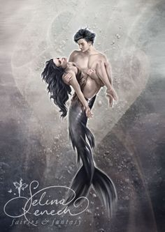 Saviour by Selina Fenech  *sigh* a merman rescuing a girl! *happy sigh*