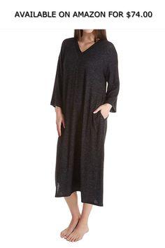 e7b242236b Donna Karan Sleepwear Sweater Lounge Caftan (D206938) ◇ AVAILABLE ON AMAZON  FOR   74.00