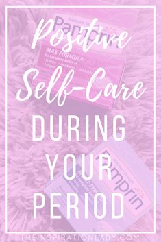 "Self-care and positive thinking are super important in life, especially during our periods. Here are some tips for practicing self-care and staying positive during ""that time of the month"" featuring Pamprin! // http://primp.in//JIC5Fd3Oox // #ad #BePositivePamprin #PowerPrimper"