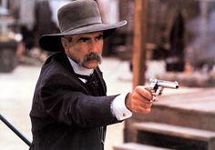 Tombstone - Movie Still Virgil Earp oh ya! I could listen to Sam Elliott read the phone book.