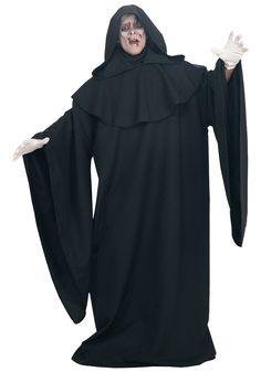 Deluxe Grim Reaper Costume Robe - FOREVER HALLOWEEN Ghost Halloween Costume, Ghost Costumes, Devil Costume, Funny Costumes, Adult Costumes, Costumes For Women, Halloween Halloween, Halloween Festival, Carnival Costumes