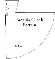 The paenula has been around since the time of the Roman Empire, worn by legionnaires of the era the design lasted well into the high Middle Ages and beyond. The paenula is a hooded-knee length cloak probably made of wool or leather and judging from iconography of the time it seemed to have been some shade of brown or yellowish-brown in color. This cloak is excellent for quests, mild as well as rainy weather and it is also serves as sufficient bedroll while on campaign.