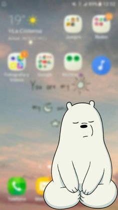 Escandalosos. !!!! Polar Funny Phone Wallpaper, Tumblr Wallpaper, Cool Wallpaper, Pattern Wallpaper, Wallpapers Geek, Phone Backgrounds, Wallpaper Backgrounds, We Bare Bears, Cute Disney