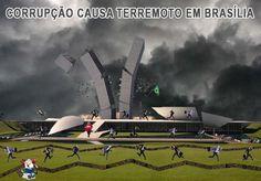 A POLÍTICA BRASILEIRA ESTÁ EM RUÍNAS…