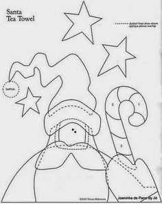 Artesanato e Cia : Enfeites natalinos,está na hora de começar!!! (papai Noel)